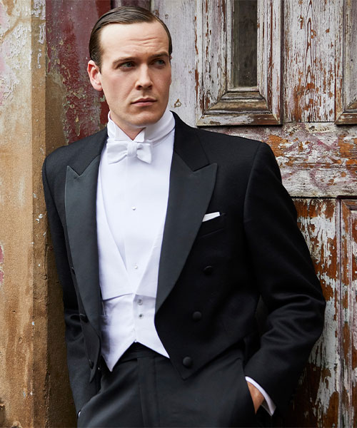 White Tie Outfit