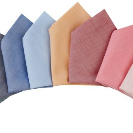 New Menswear Accessories: Batiste Cotton Handkerchief