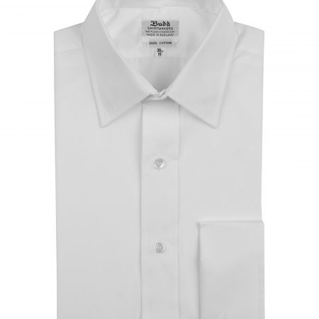 Budd's Shirt of the month: White Poplin Shirt