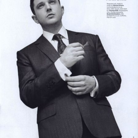 GQ, 25th Anniversary Issue - December 2013