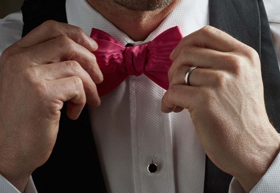 How to Tie the Perfect Bow Tie