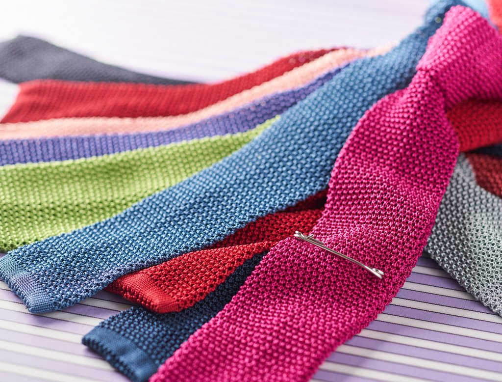 Silk Knitted Ties