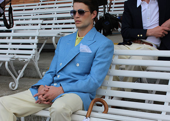Tennis Season - Seated Spectator