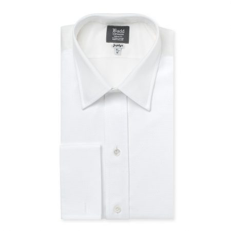 Budd Shirt Winner - White Poplin Shirt