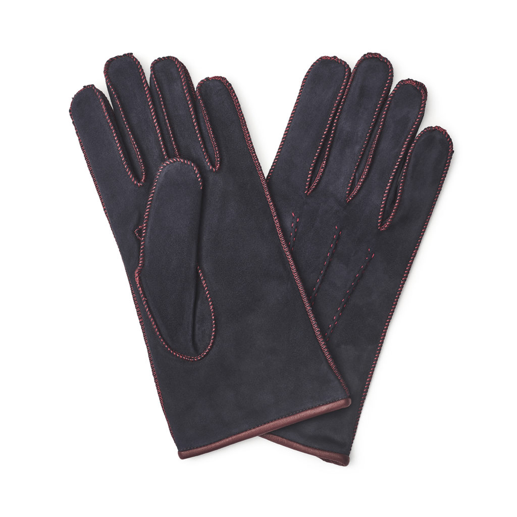 The Super-Warm Suede Gloves
