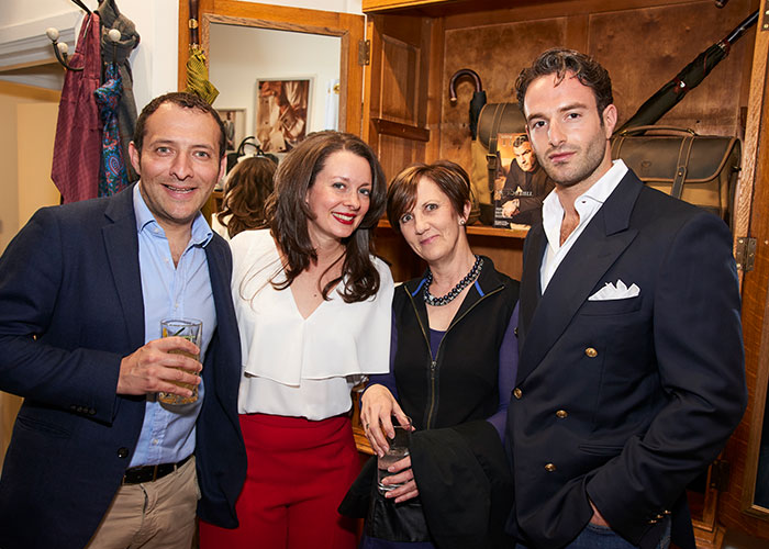 Left to Right: Mr White, Annie White, Gillian Tusting and Greg Zimmerman