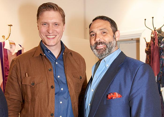 Tom Chamberlin and Darren Tiernan