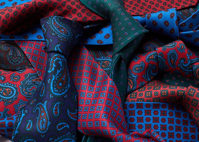 Budd Madder Silk Ties