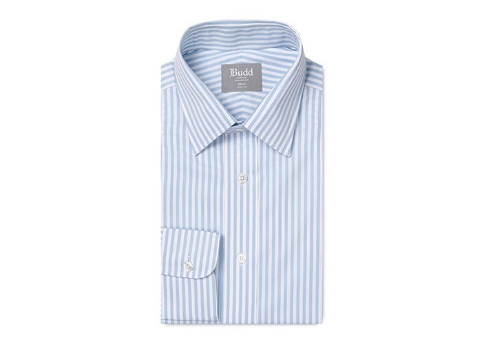 Bengal Stripe Shirt in Sky Blue
