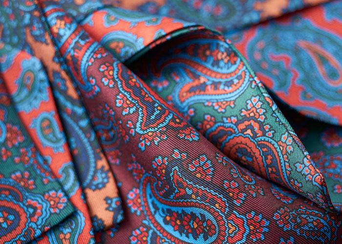 Budd Madder Silk Cravats