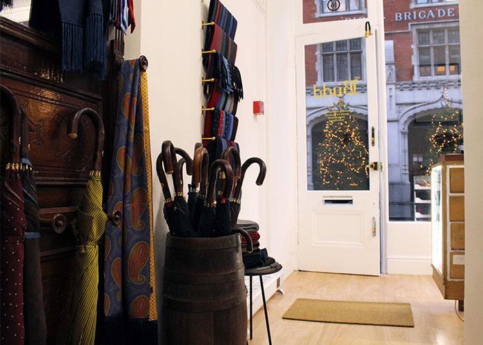 Inside Budd Chiltern Street Store