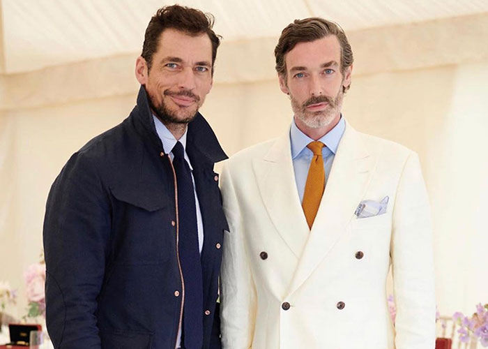 Richard Biedul wearing Budd at Goodwood for the 25th Cartier 'Style et Luxe' concourse d'elegance