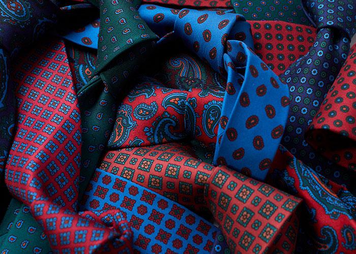 Budd Madder Silk Ties