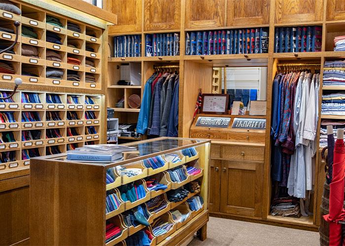 Inside the Budd store