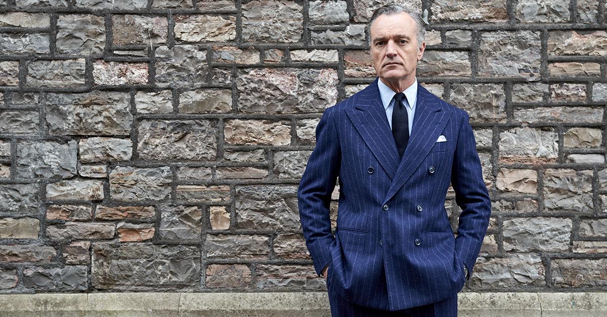 Douglas Cordeauxin Blue Suit