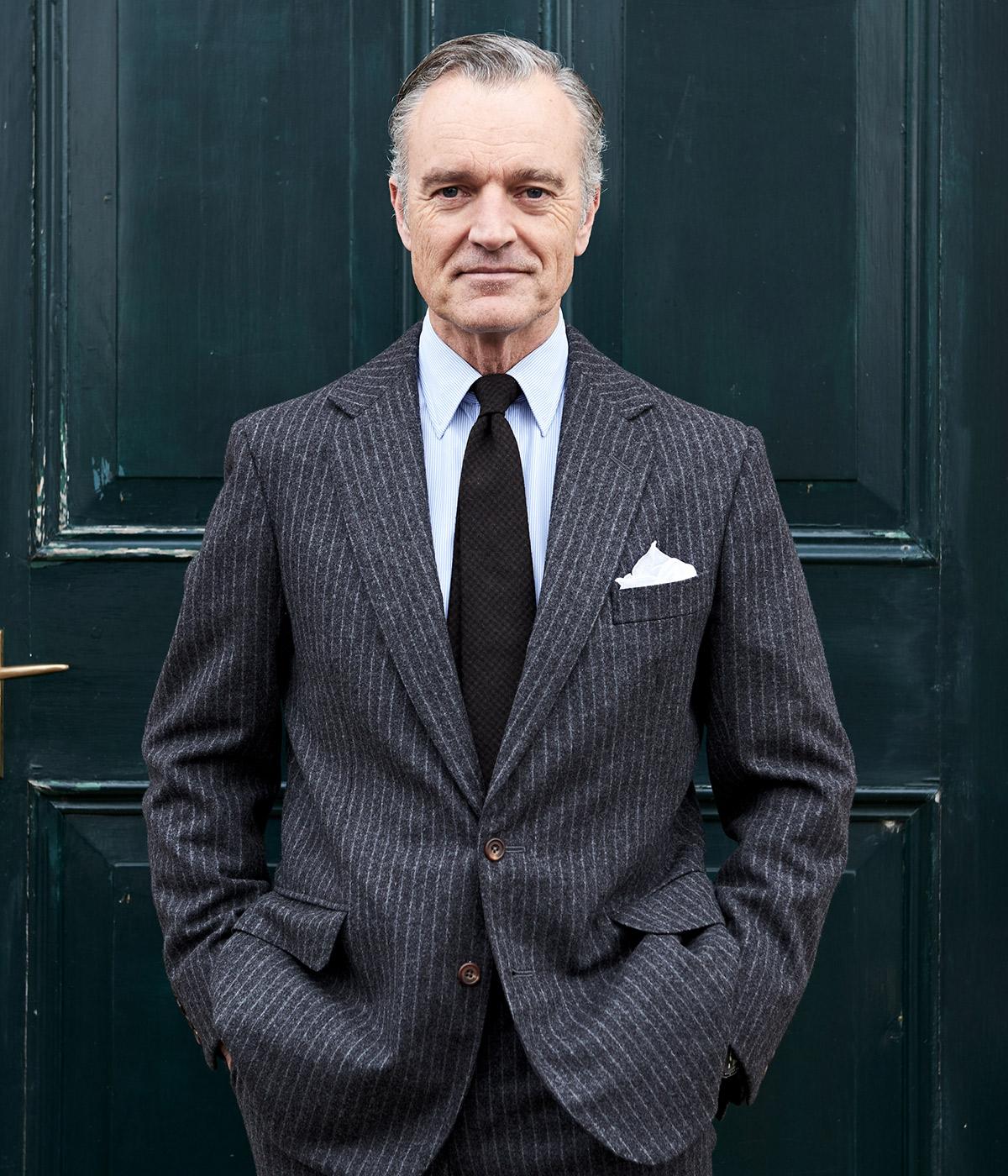 Douglas Cordeauxin Grey Suit