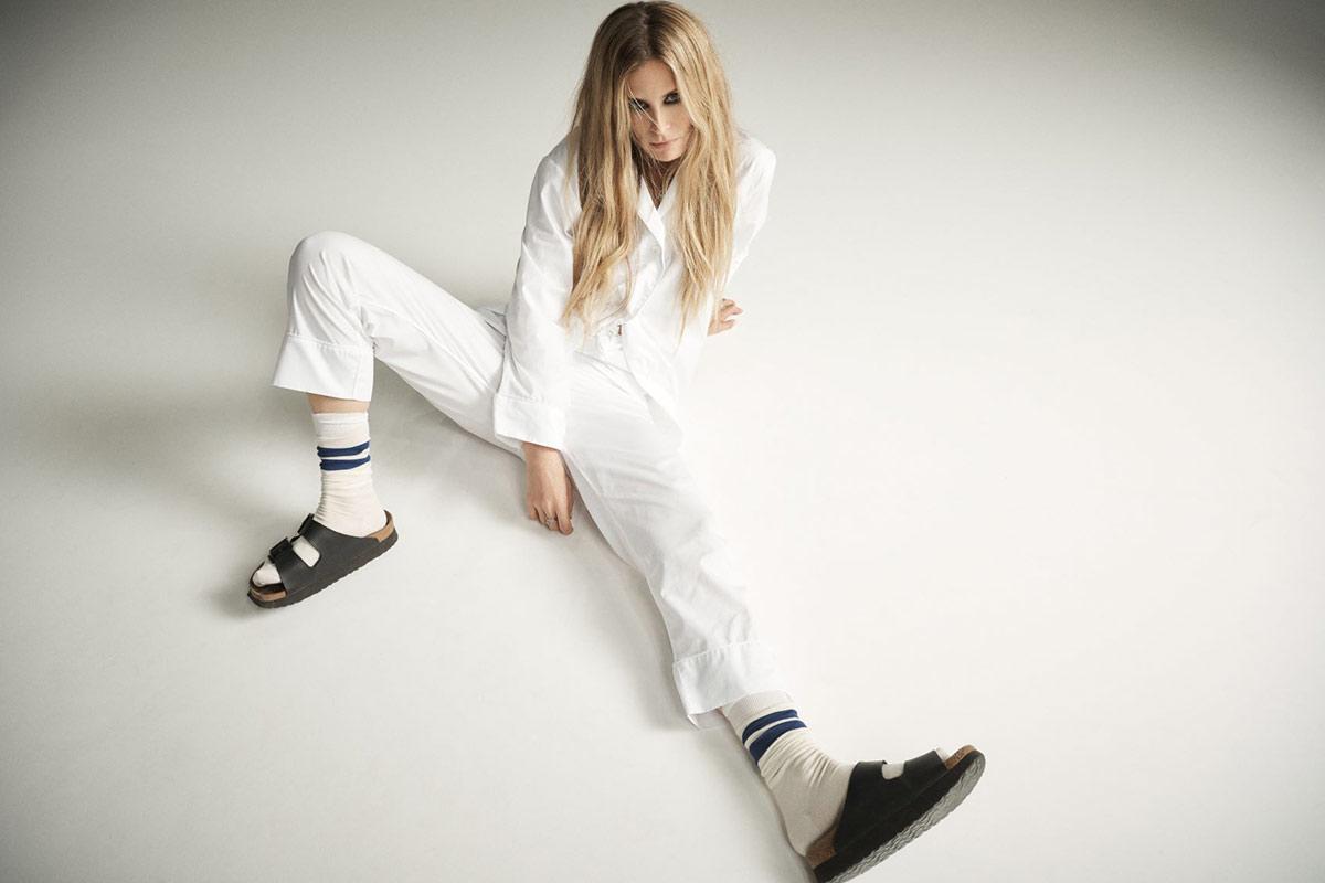 Laura Bailey in Tommy Pyjamas