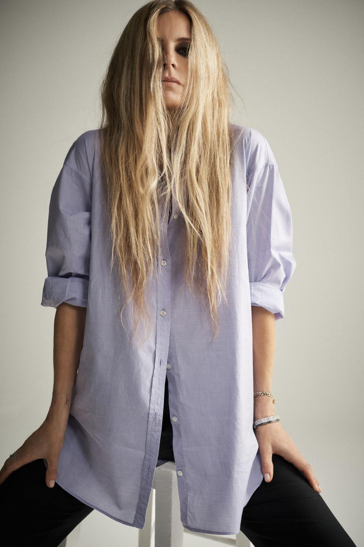 Laura Bailey in Luxor Shirt